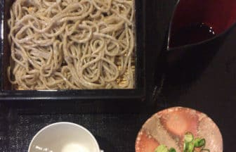 東京・原宿『玉笑(たまわらい)』蕎麦