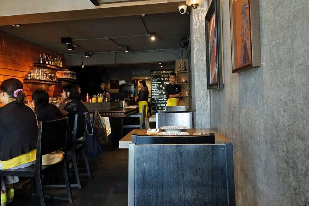 タイ・バンコク『Supanniga Eating Room(スパンニガー イーティング ルーム トンロー店)』タイ東北料理