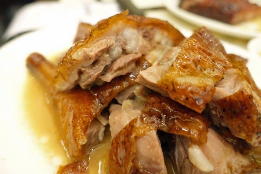 香港『甘牌焼鵝/Kam's Roast Goose(カムズ・ローストグース)』香港式焼物