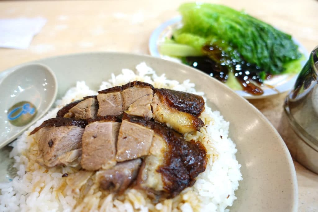 『一樂燒鵝/Yat Lok Restaurant』@中環(セントラル)