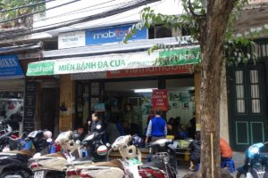 Hanoi-Bánh Đa Cua cô Thơm