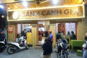 Hanoi-Quán Út Còi Bánh Canh Ghẹ