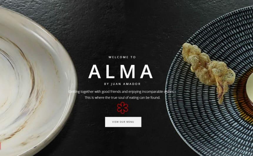 シンガポール『アルマ・バイ・ファン・アマドール(Alma by Juan Amador)』ヨーロピアンコンテンポラリー