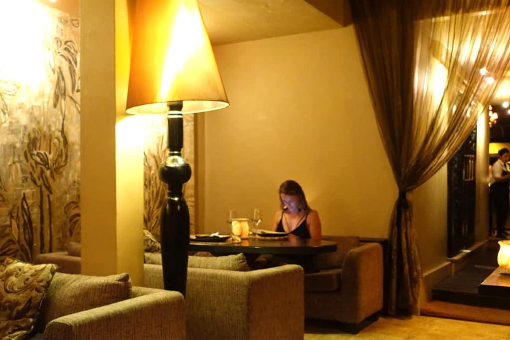バリ島スミニャック『Sarong(サロン・レストラン)』アジアン・フュージョン