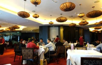 中国・深圳『香宮(シャングウ)』(シャングリ・ラ ホテル内)広東料理・飲茶