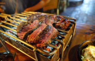 バリ島ウブド『バツバラ(Batubara -Argentinian Grillery-)』ステーキ
