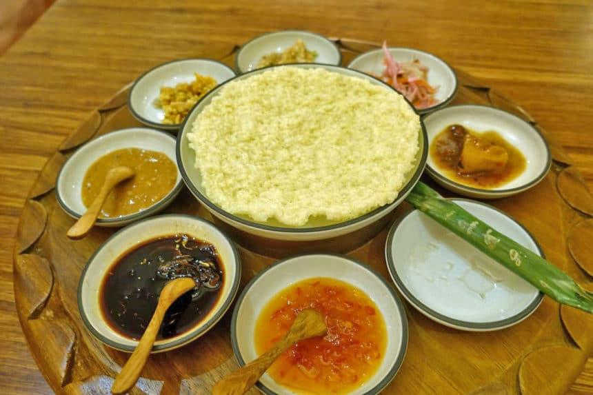 バリ島ウブド『Nusantara By Locavore(ヌサンタラ・バイ・ロカヴォール)』インドネシア伝統料理