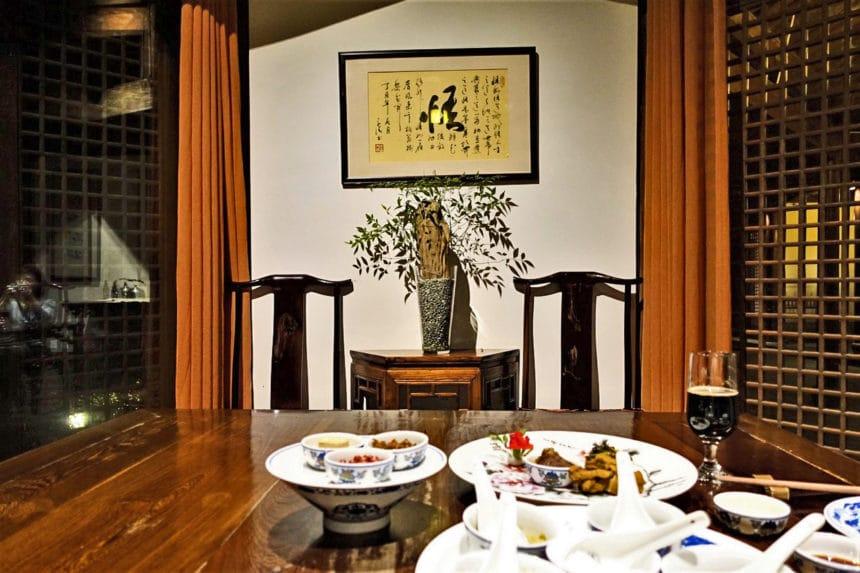 中国・杭州『龍井草堂(龙井草堂)/Longjing Manor』浙江料理