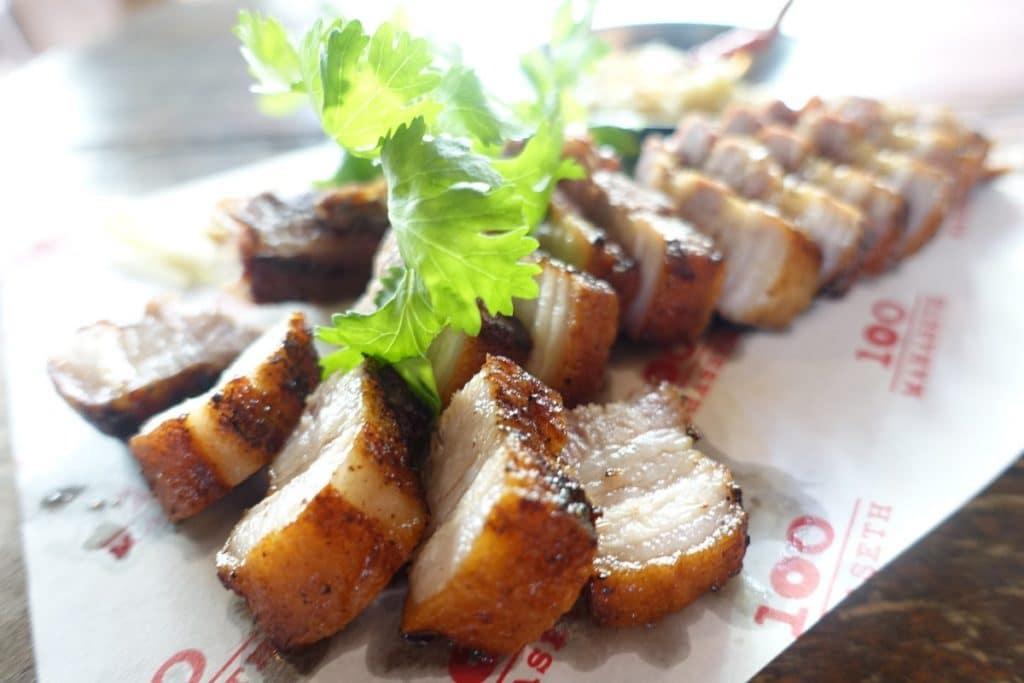 タイ東北部料理『ワンハンドレッド・マハセット』@サパーンタクシン
