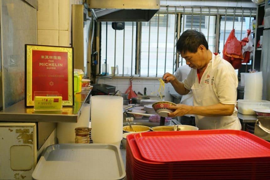 シンガポールで屋台(ホーカー)など安旨ミシュラン店巡り4選