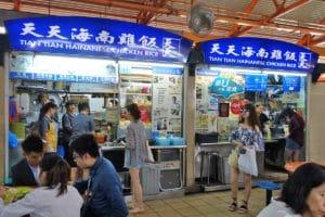 オススメ店③:ビブグルマン『天天海南雞飯/Tian Tian Hainanese Chicken Rice』