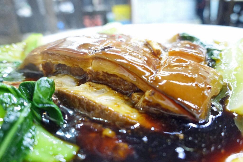 「豚角煮」from蘇州『協和菜館(シエホーツァイグァン)』