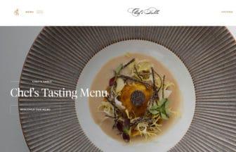 タイ・バンコク『シェフズテーブル(Chef's Table)』コンテンポラリーフレンチ