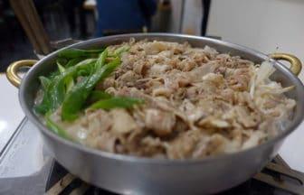 東京・神泉『肉なべ 千葉 渋谷店 』ちりとり鍋・てっちゃん鍋