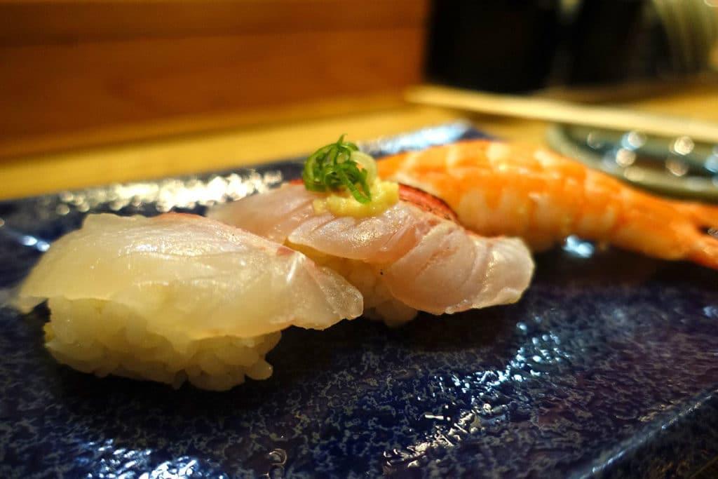 関西国際空港『すし処 ほんまもん』寿司