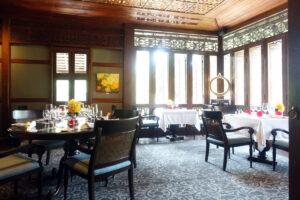 タイ・チェンマイ『The Dining Room at 137 Pillars House(ダイニングルーム アット 137ピラーズハウス)』モダン・タイ料理 ☆