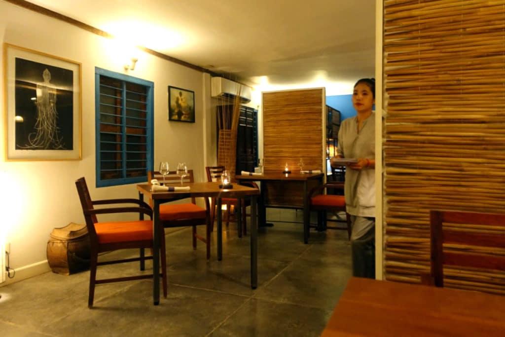 カンボジア・シェムリアップ『キュイジーヌ ワット ダムナック(Cuisine Wat Damnak)』フレンチ・アジアン・フュージョン