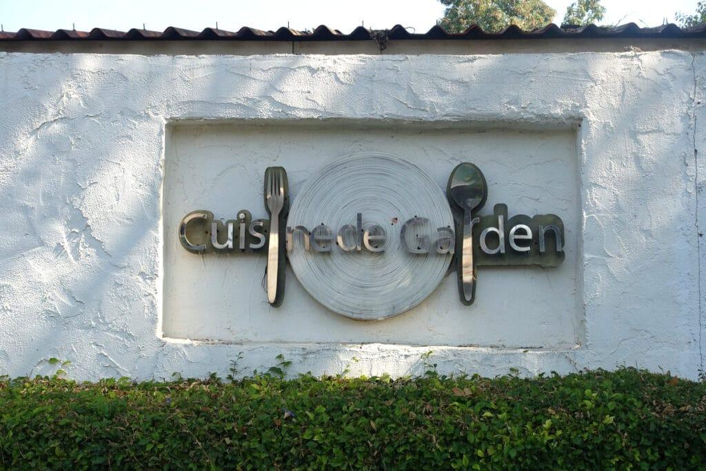 タイ・チェンマイ『Cuisine de Garden(キュイジーヌ ド ガーデン)』コンテンポラリー・フレンチ