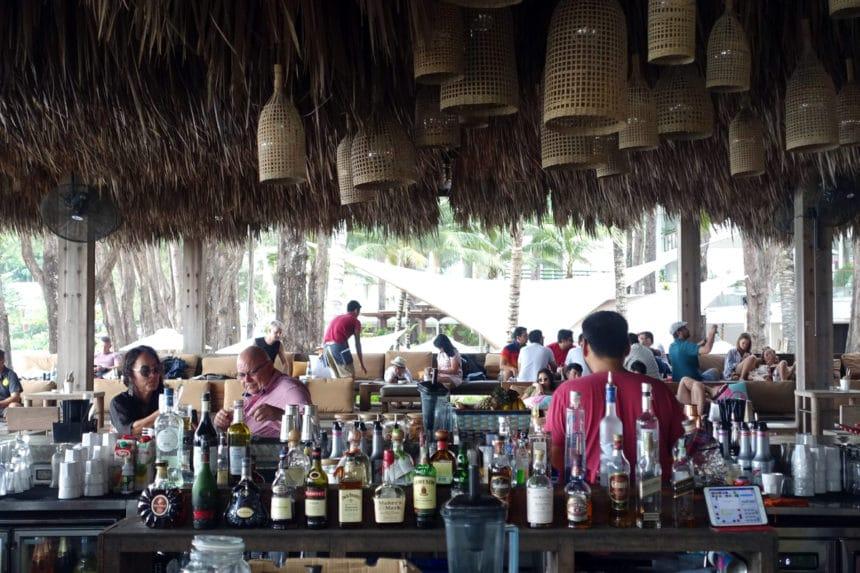 タイ・プーケット『カフェ デル マー プーケット(Café Del Mar Phuket)』ビーチカフェ・ラウンジ