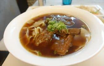 台北・牛肉麺『天下三絶』