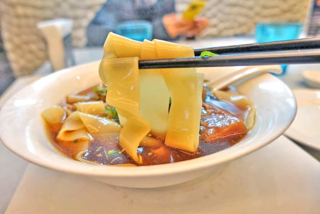 台湾・台北『天下三絶(テンシャーサンジュエ)』牛肉麺