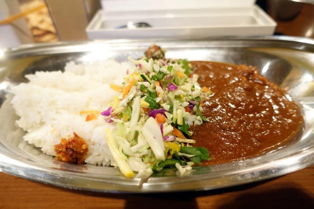 『ポークビンダルー食べる副大統領』渋谷