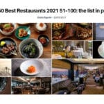 2021年度「アジアのベストレストラン50」ベスト100までのリストを発表!